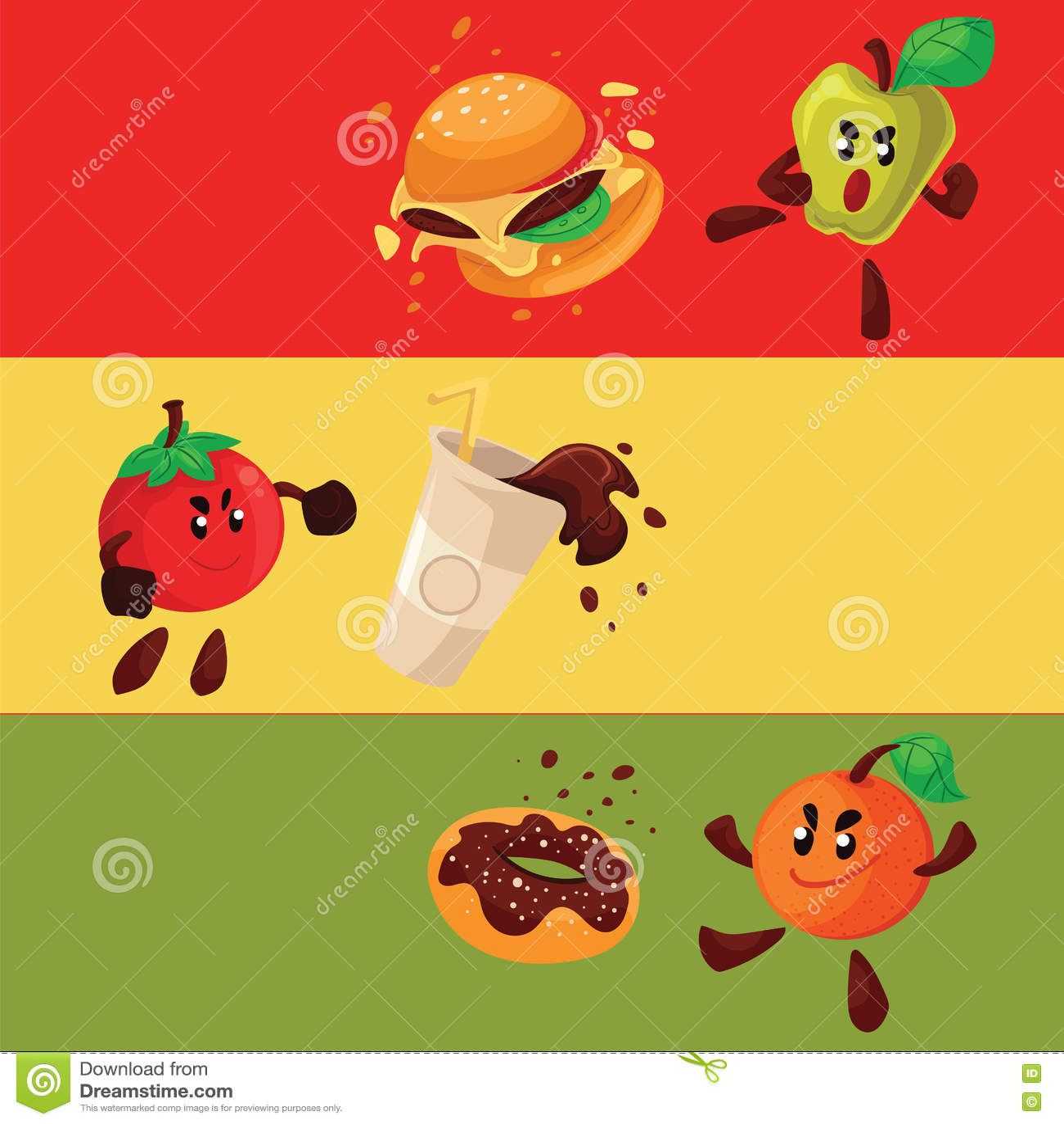 Tomato Fight Clip Art – Cliparts