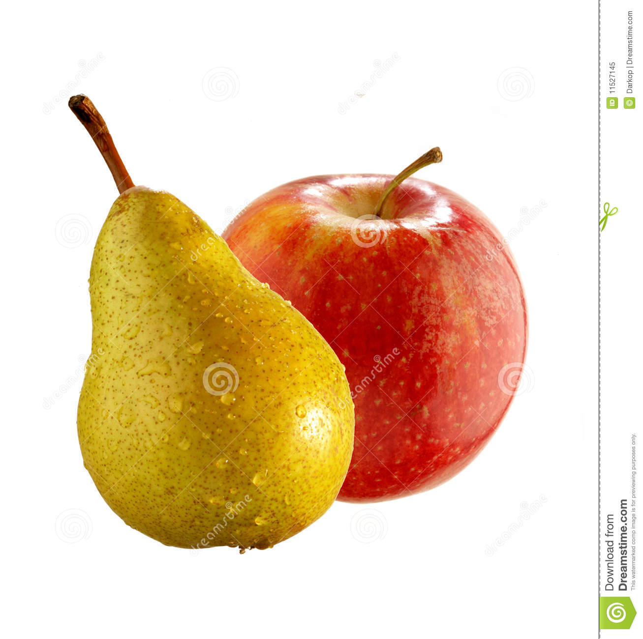 apple and pear royalty free stock photo image 11527145