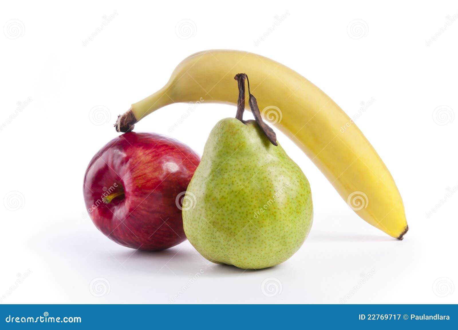 Apple, Pear and Banana