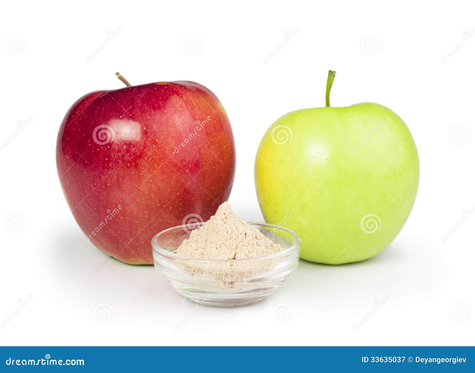 Pectin in apples