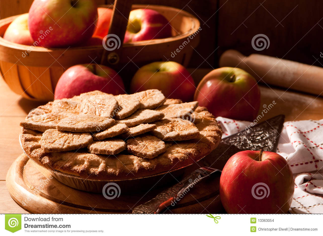 Apple Pie Stock Images - Image: 13363054