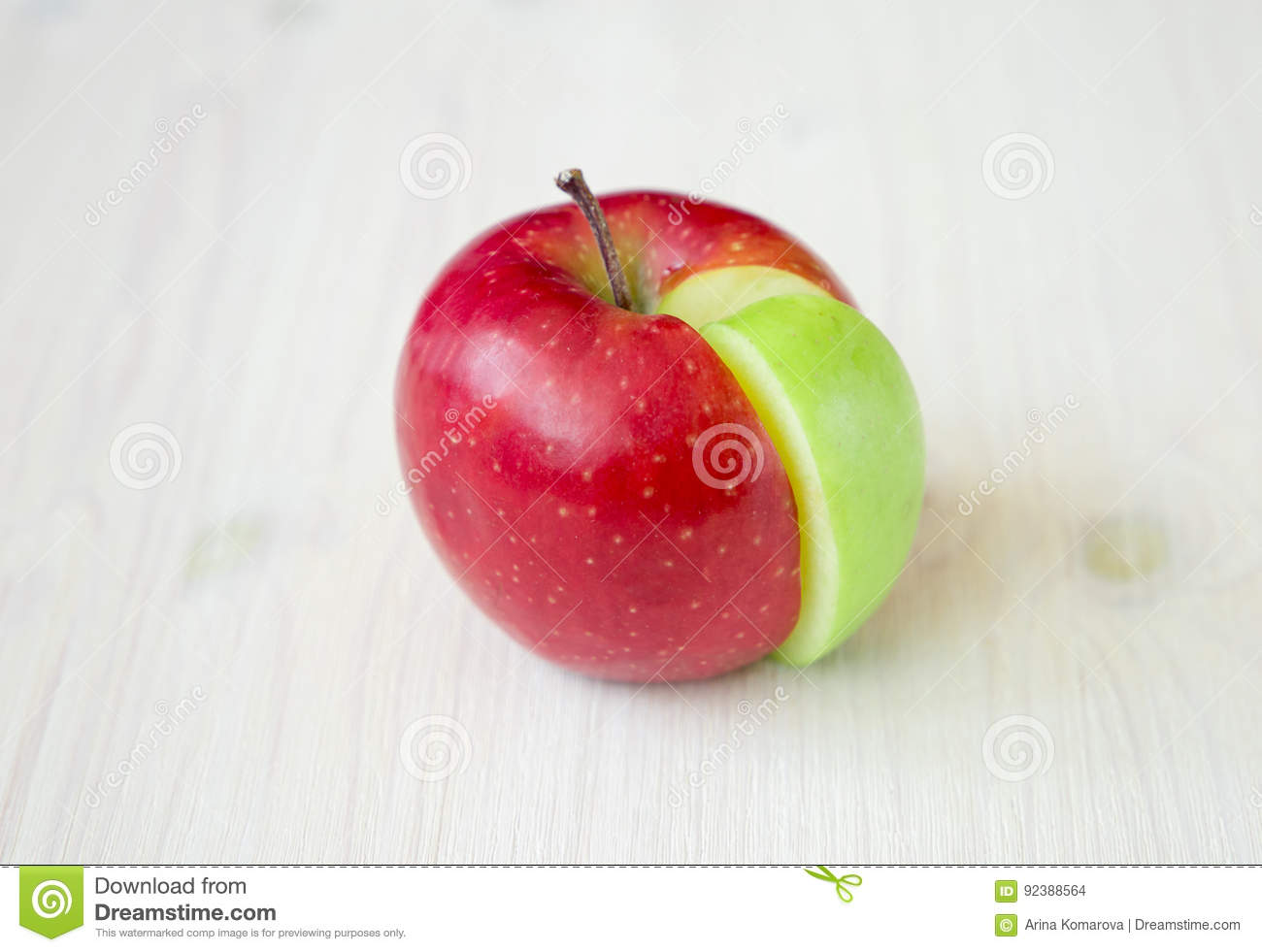 Apple pie chart made from green sector in a red circle stock apple pie chart made from green sector in a red circle nvjuhfo Images