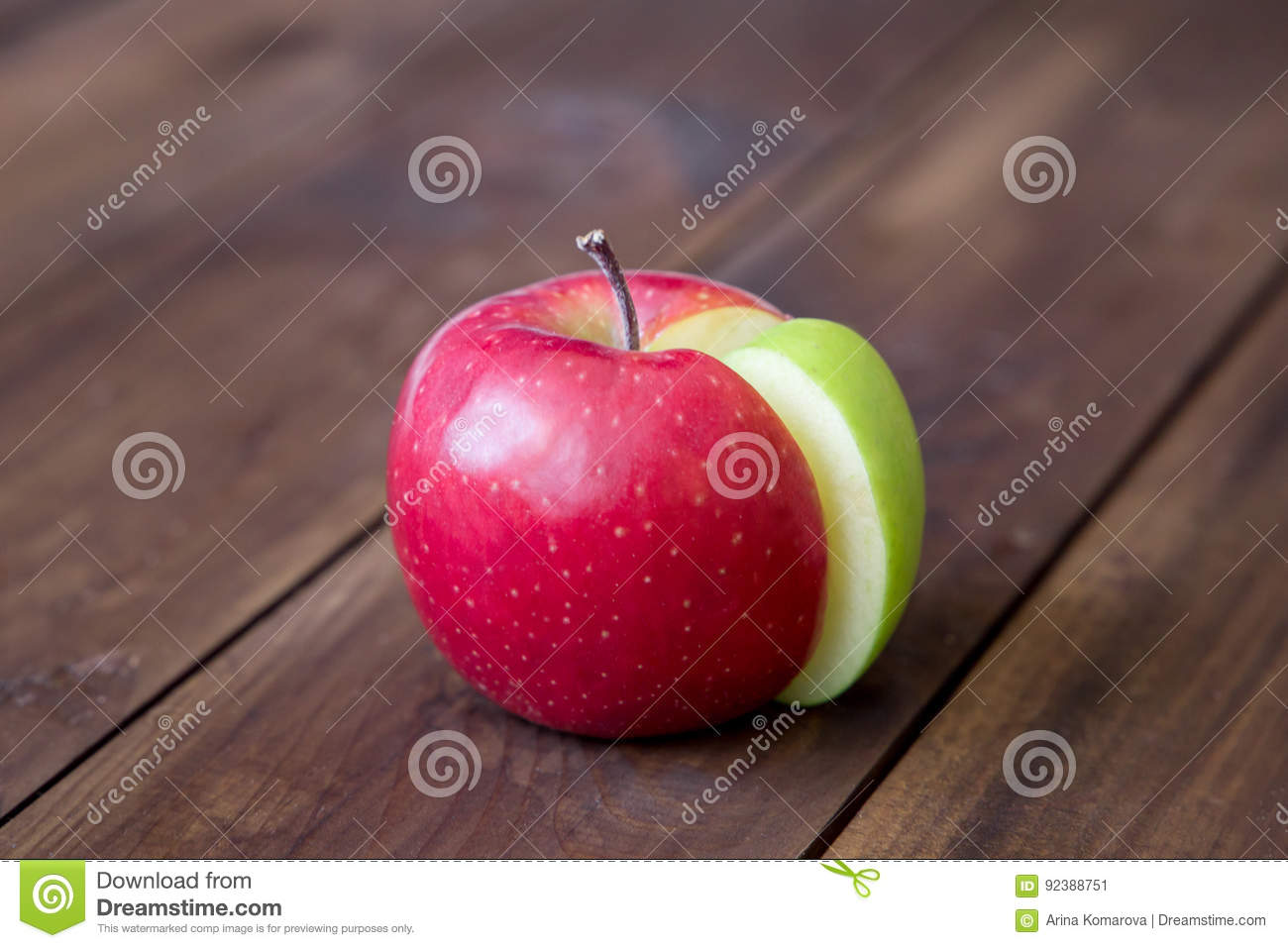 Apple pie chart made from green sector in a red circle stock apple pie chart made from green sector in a red circle delicious illustration nvjuhfo Images