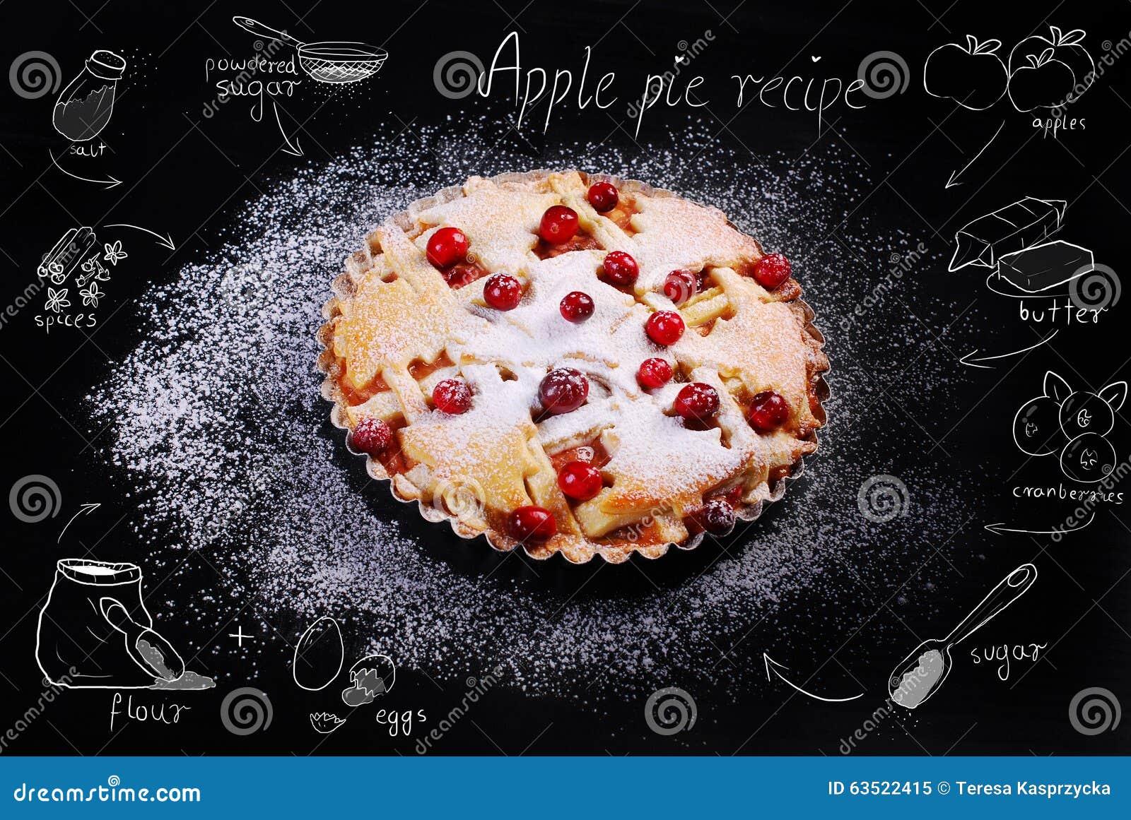 Fresh Apple And Raisin Cake