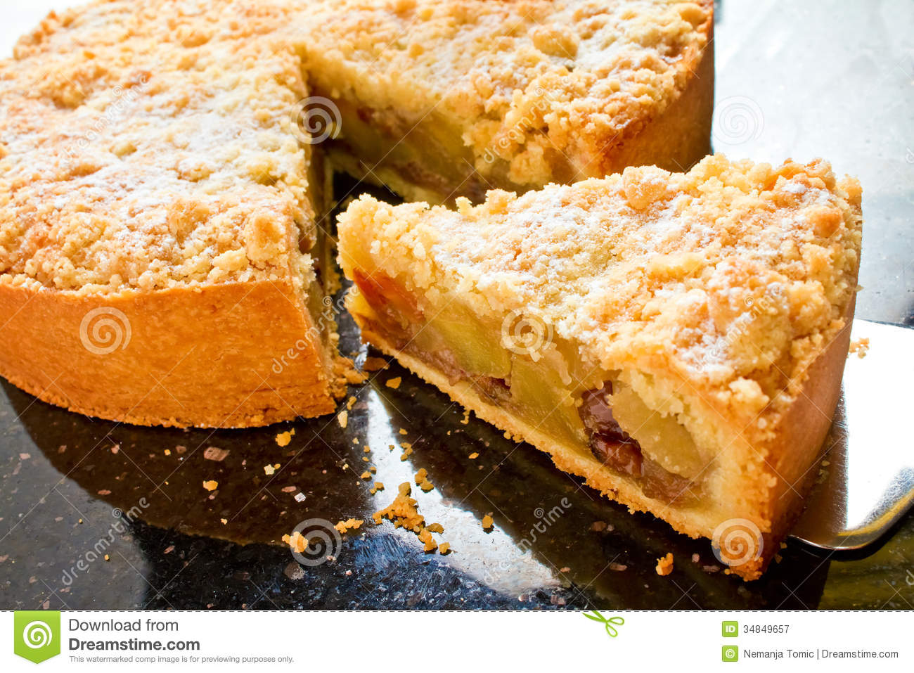 Apple Pie Royalty Free Stock Photography - Image: 34849657