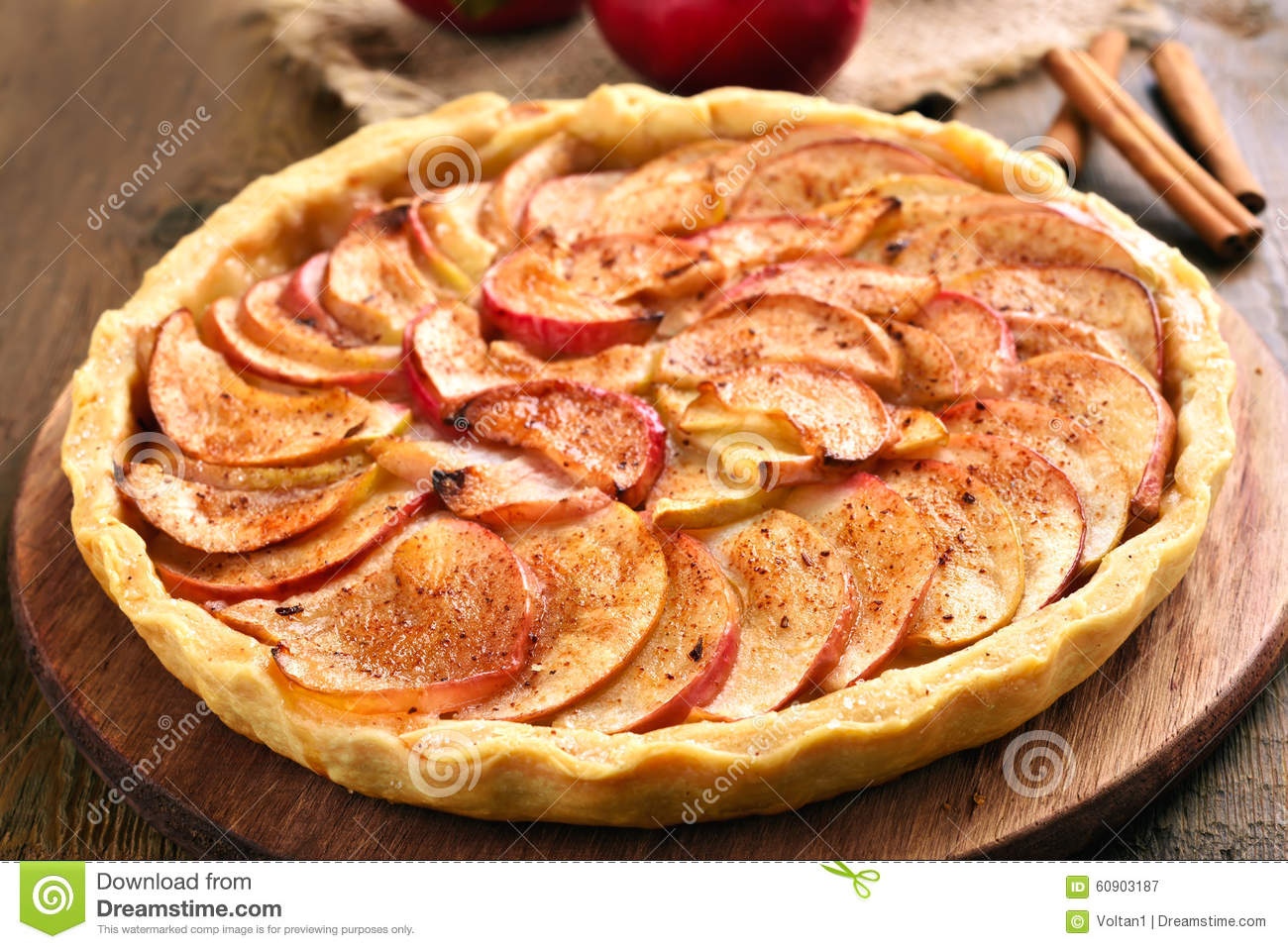 Apple Pie With Fresh F...