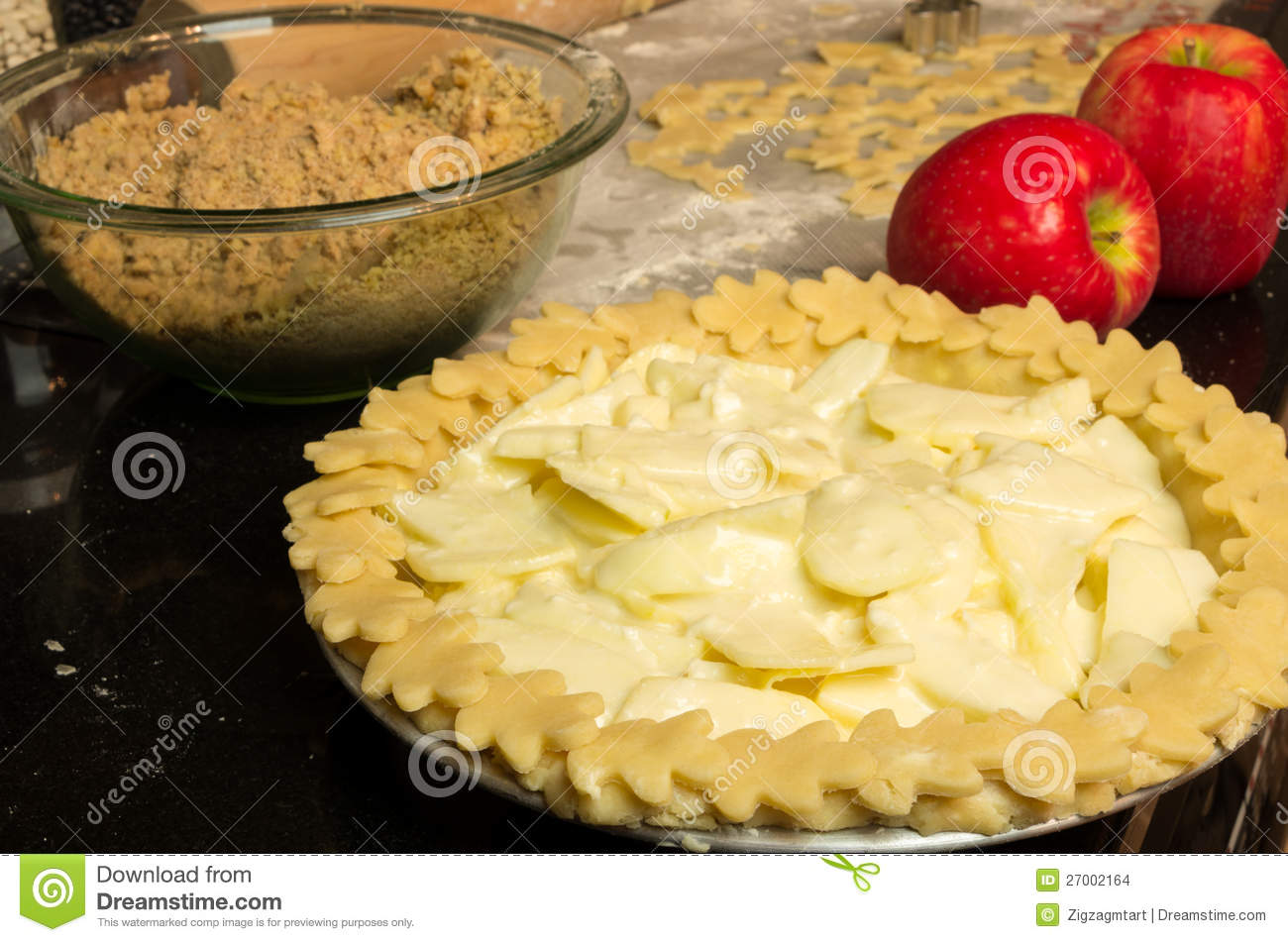 how to cook apple pie in oven