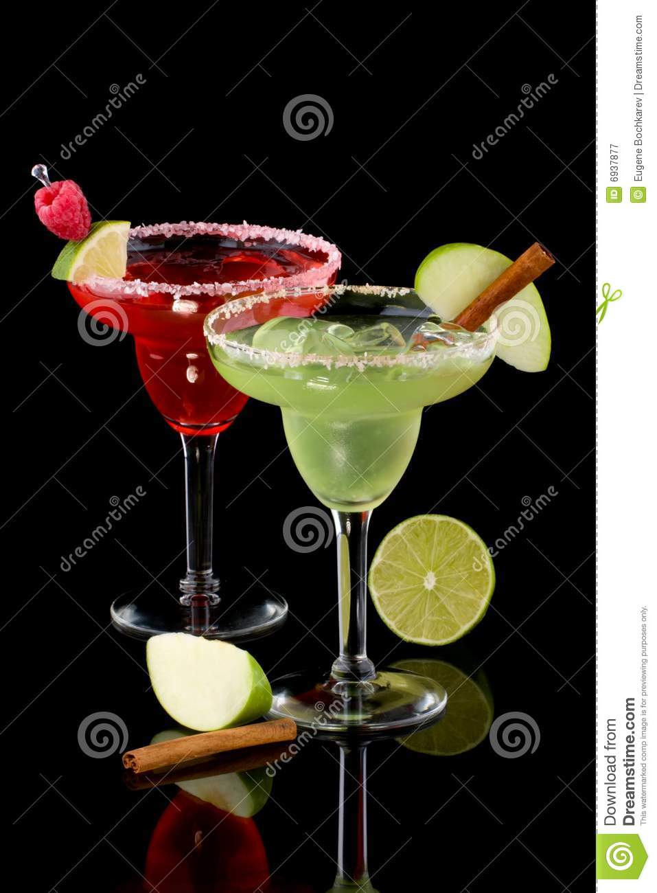 Apple and Raspberry margaritas - Most popular coc