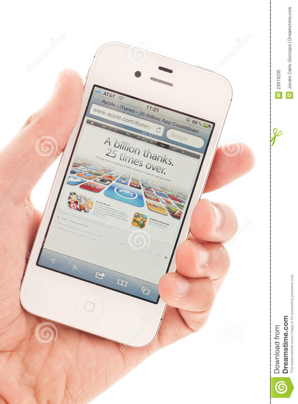 Apple app store at 25 billion downloads: what's your fav?