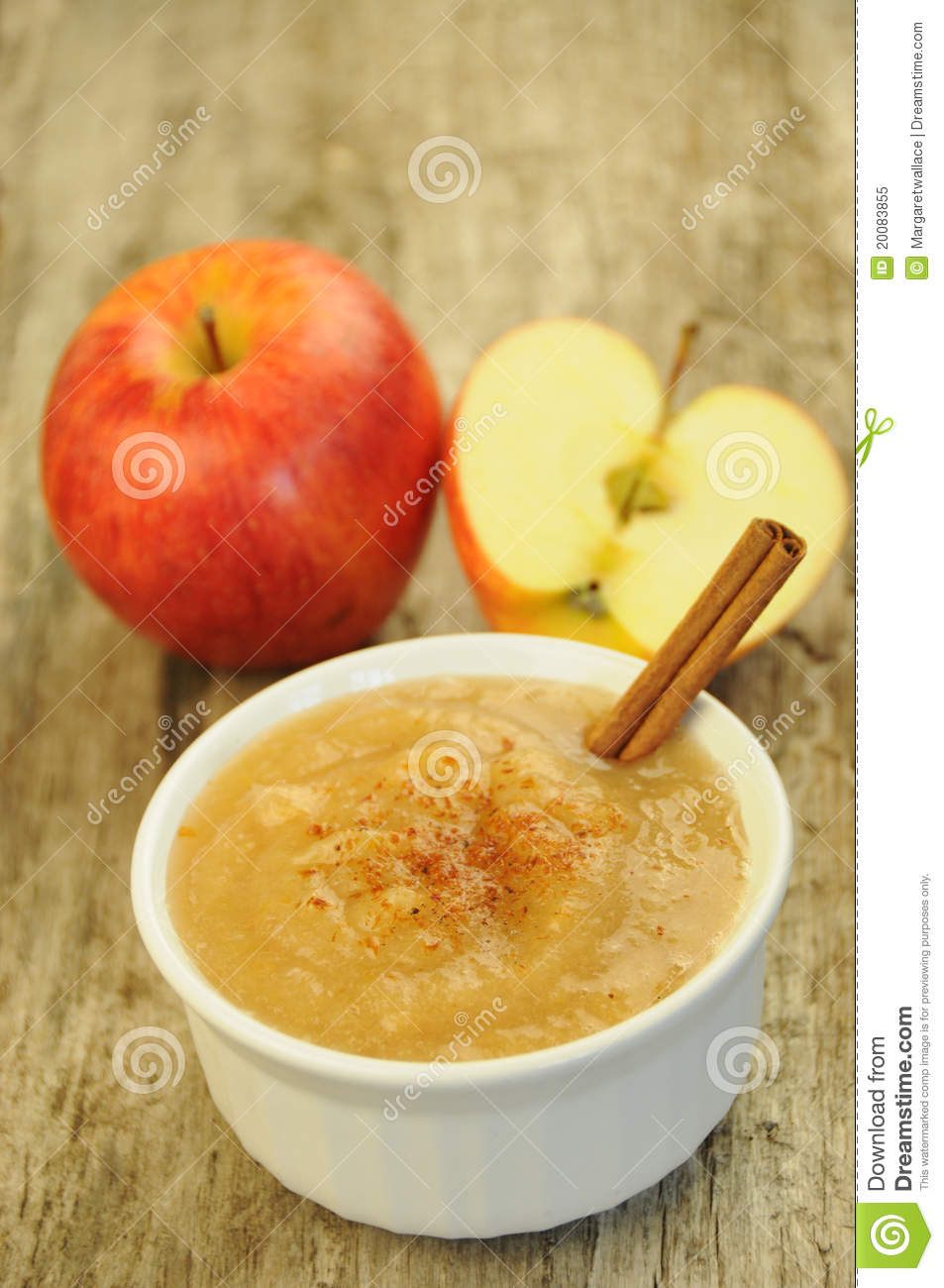 Apple Sauce Stock Image Image Of Gourmet Cooking