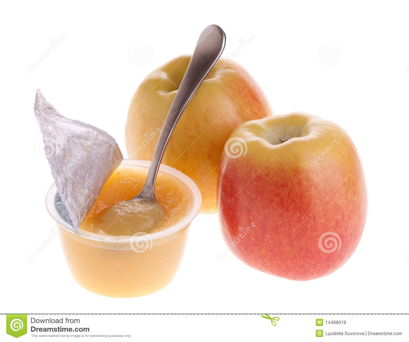 Apple Sauce And Apples Royalty Free Stock Images - Image: 14468019