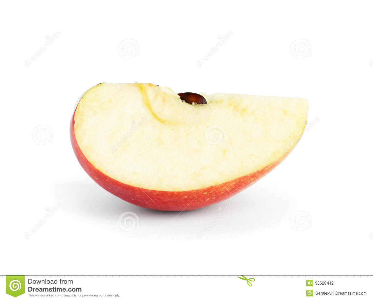 Apple Slice Stock Photography - Image: 36528412