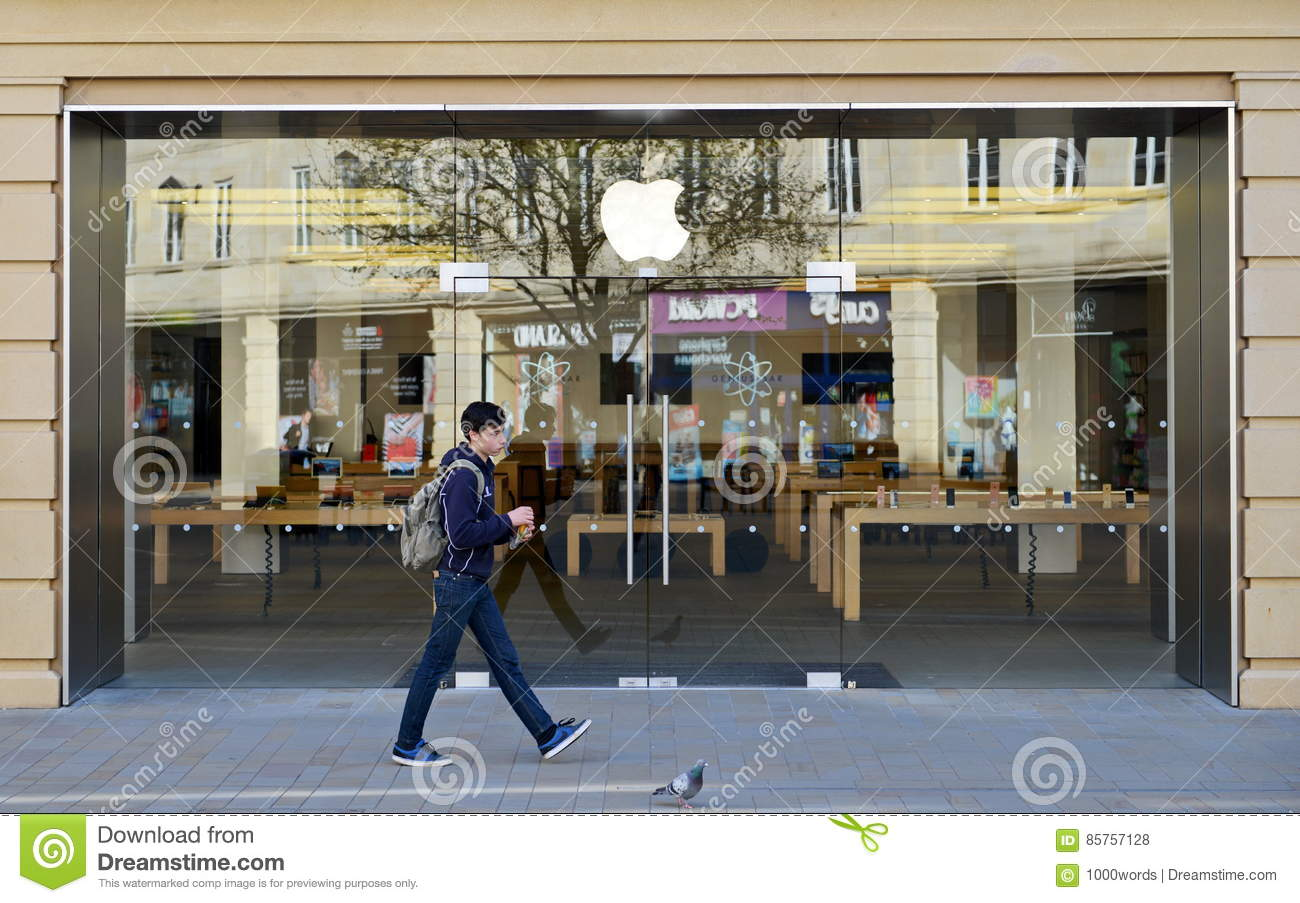 Apple Store editorial stock photo  Image of building - 85757128