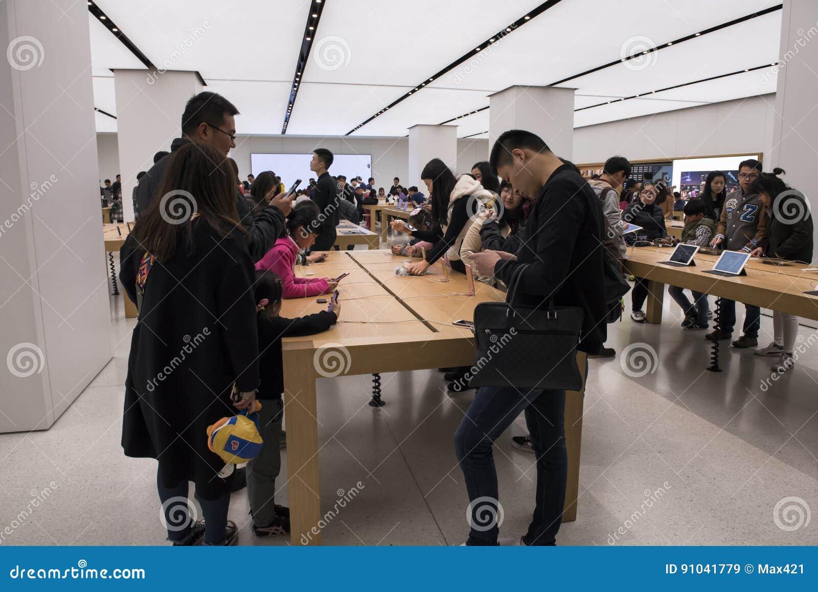 Apple Store, Changhaï