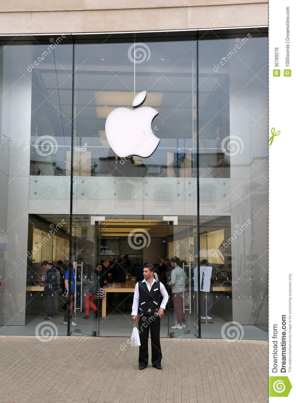 Apple Store editorial photo  Image of glass, brand