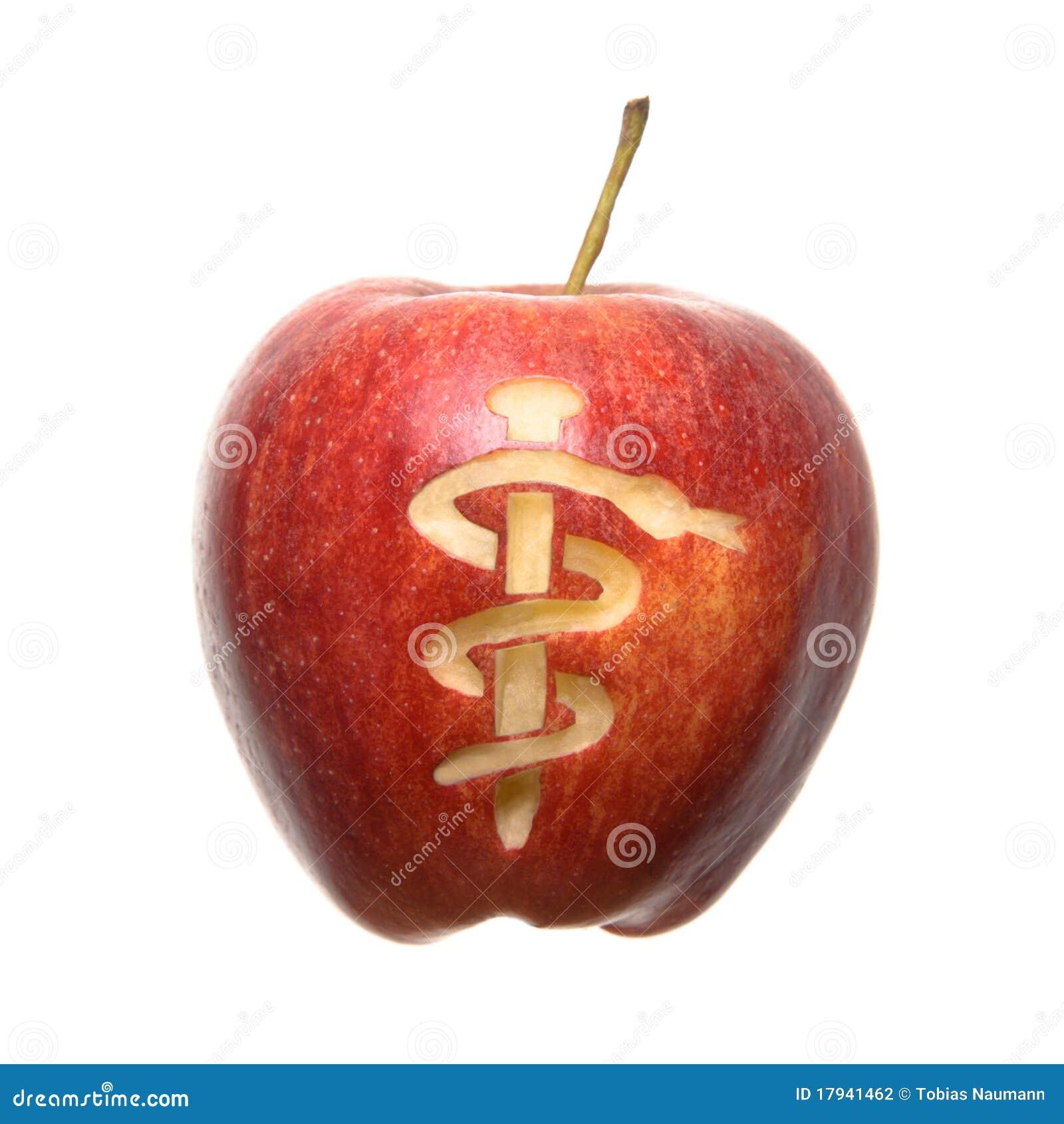 Apple Symbol Stock Photo Image Of Apple Background 17941462