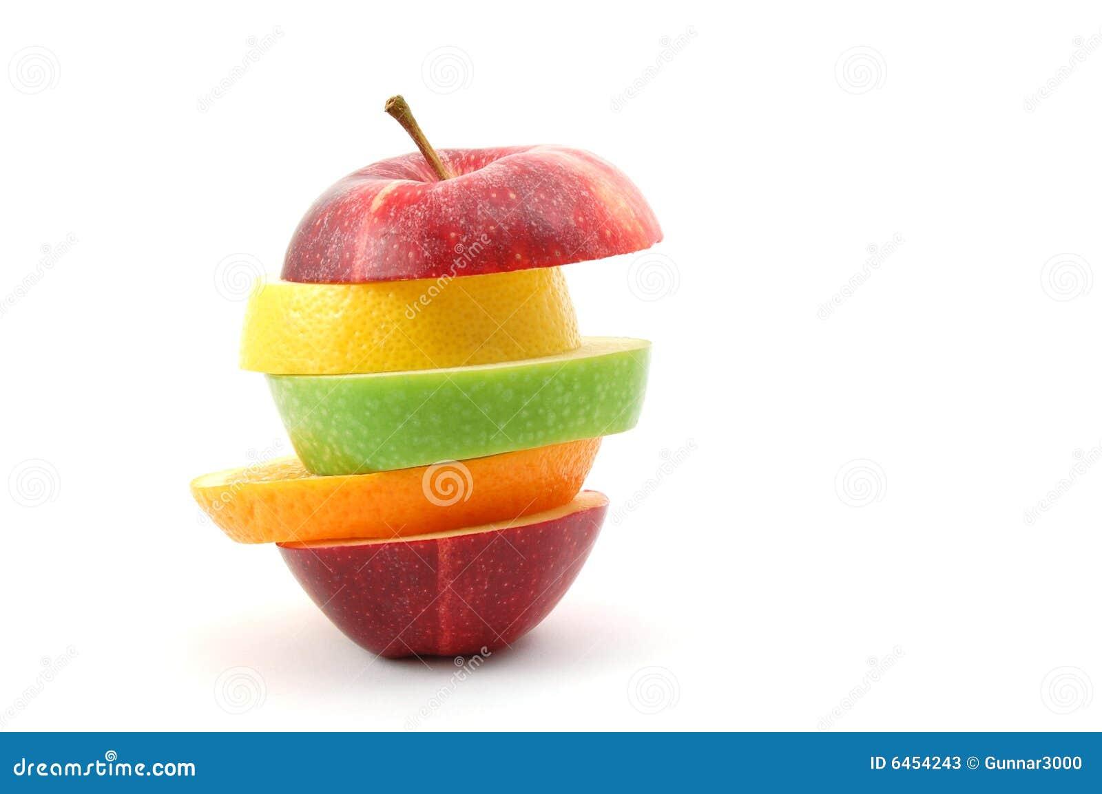 Apple tło białe