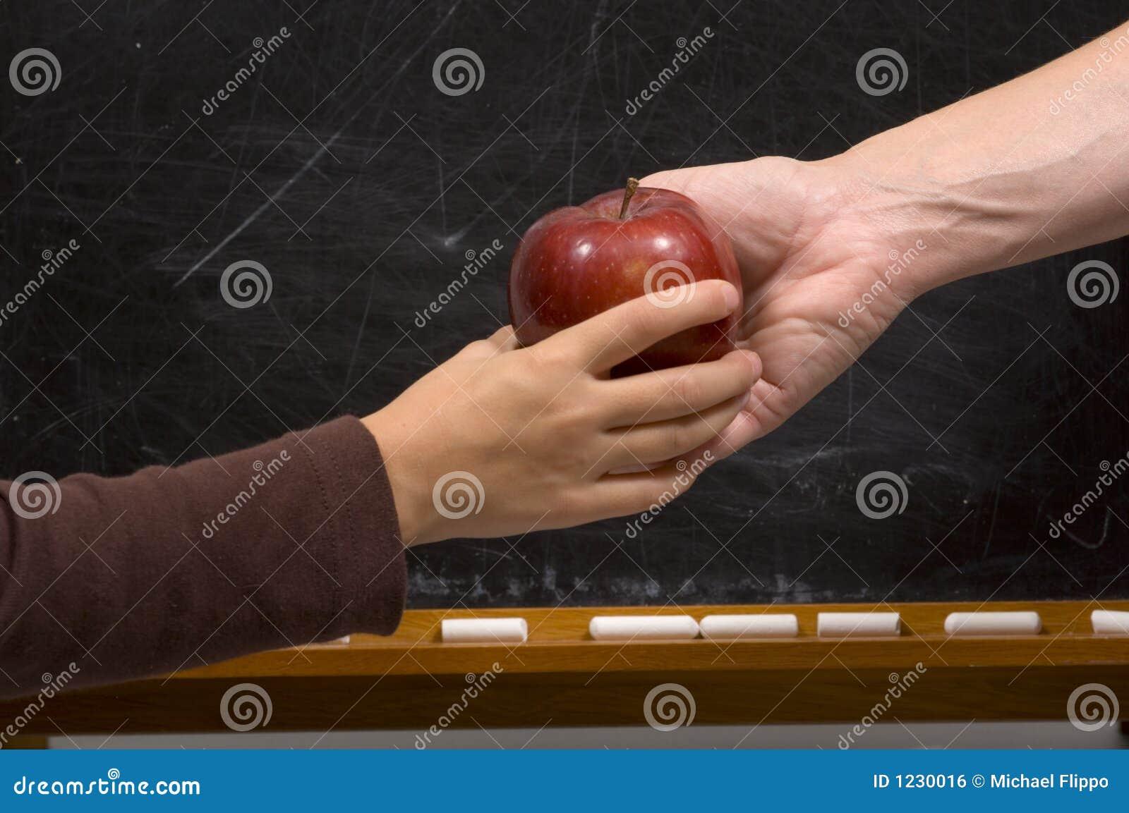 how to teach a hand shake