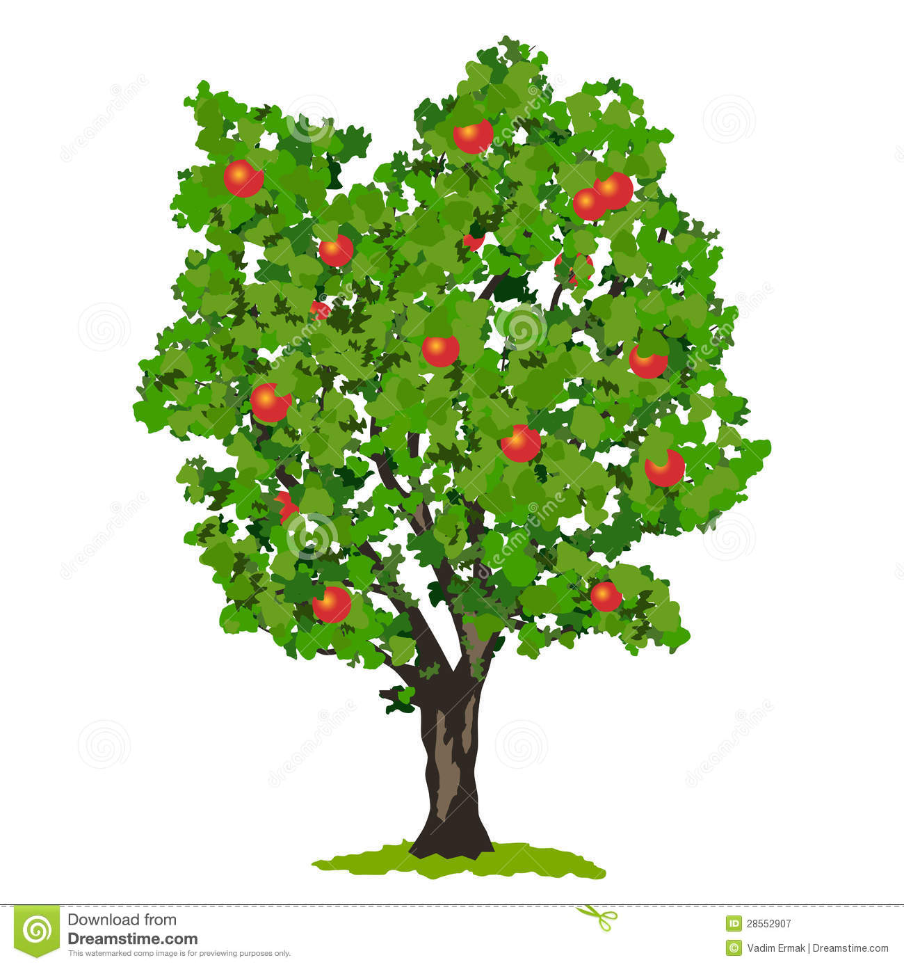 Apple Tree Illustration Royalty Free Stock Photography - Image ...