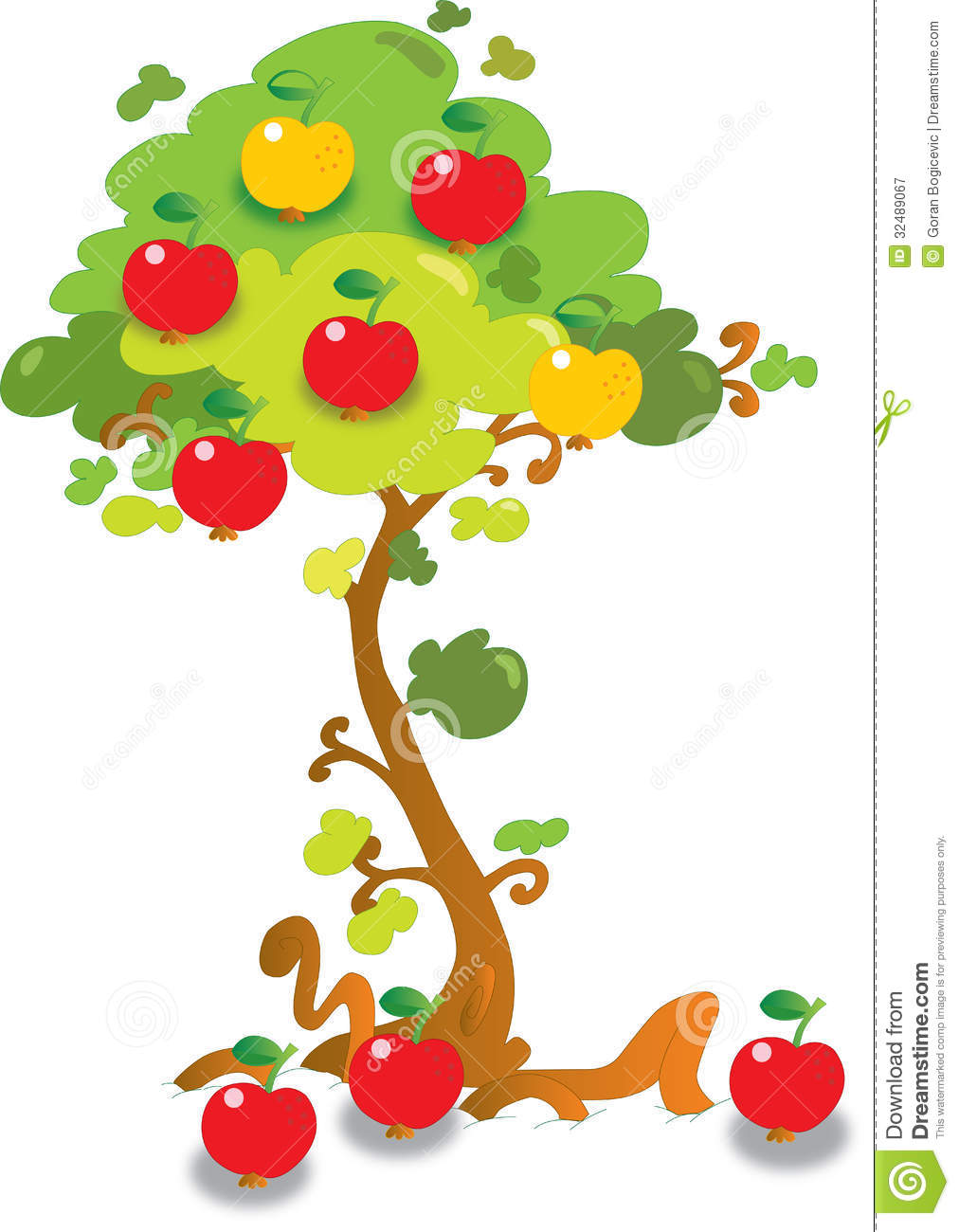 Apple Tree Royalty Free Stock Photography - Image: 32489067