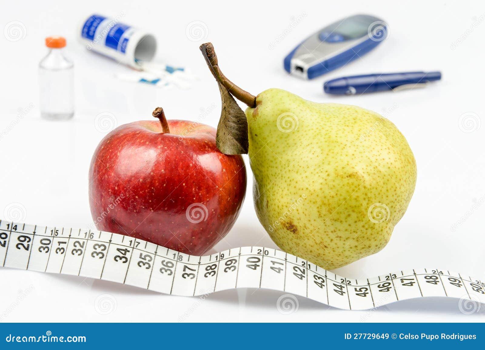 Apple und Birne