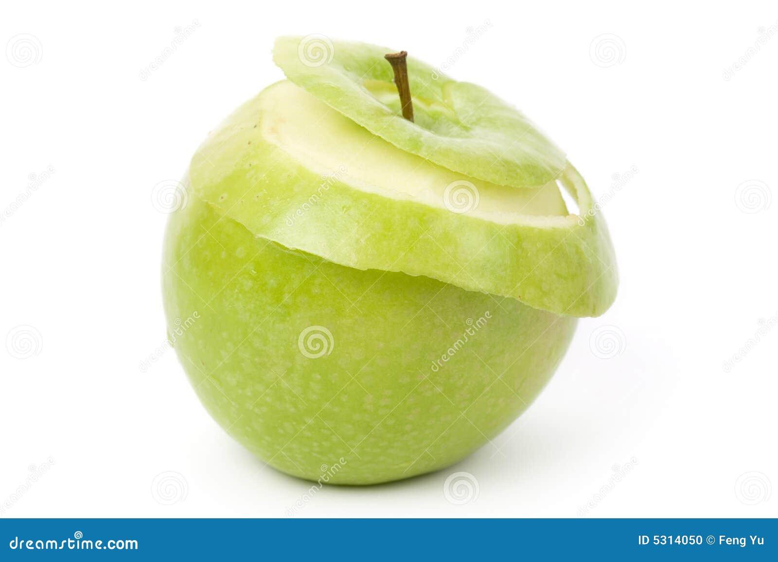 Download Apple verde fotografia stock. Immagine di consumo, mela - 5314050