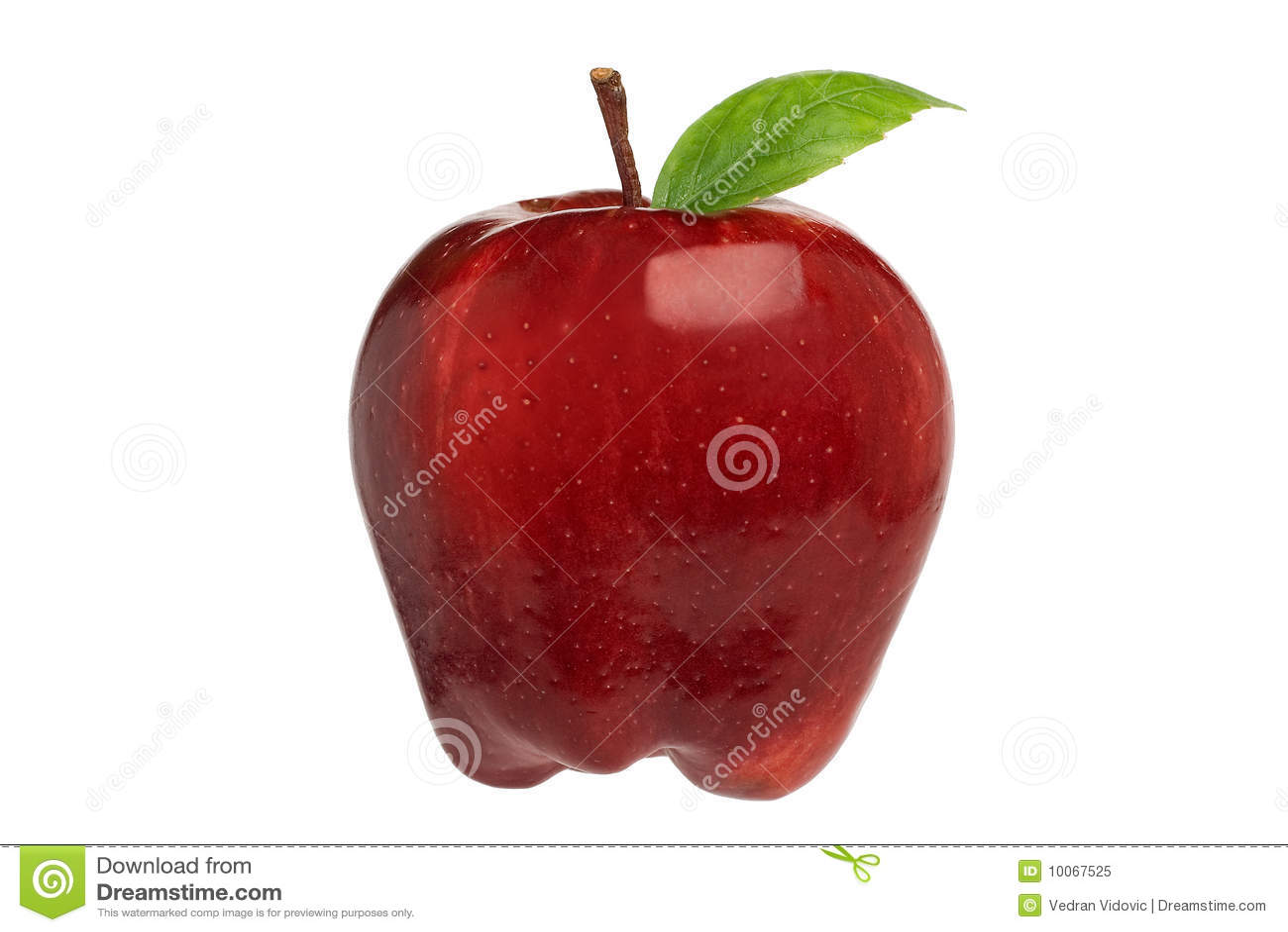 Apple vermelho