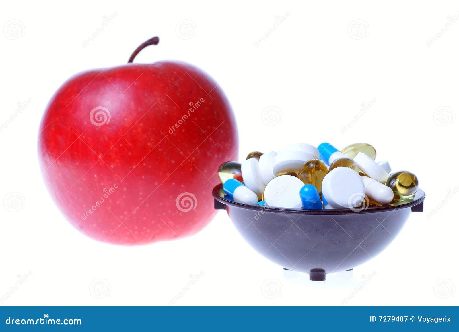 Apple y píldoras