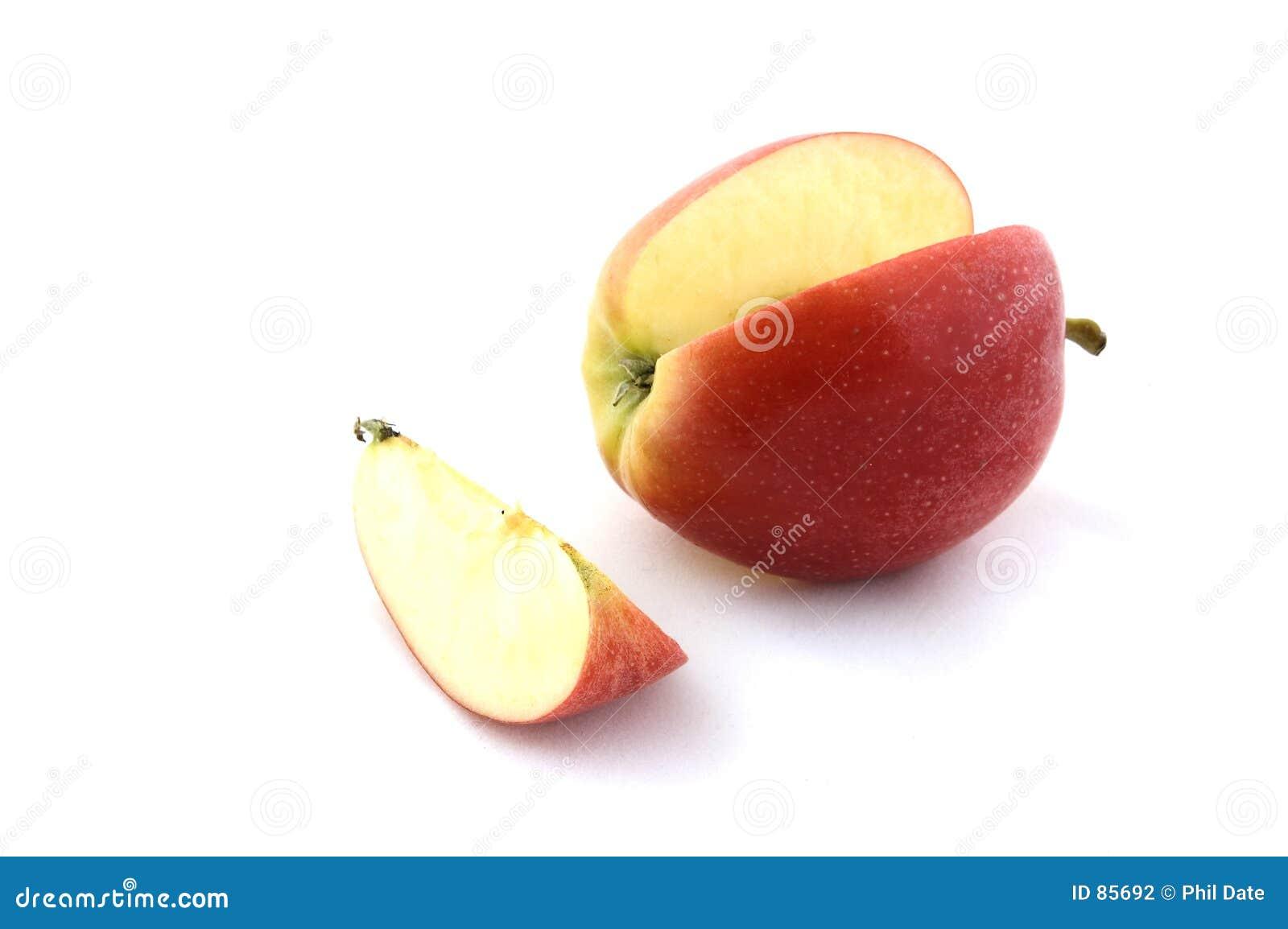 Apple y rebanada