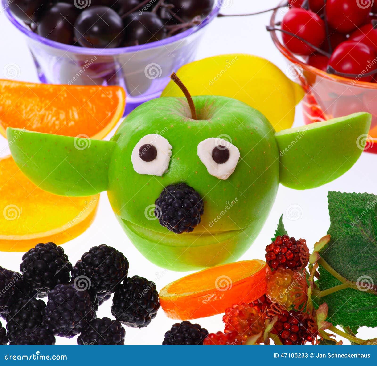 Apple Yoda Stockbild Bild Von Feier Geburtstag Wahlweise 47105233