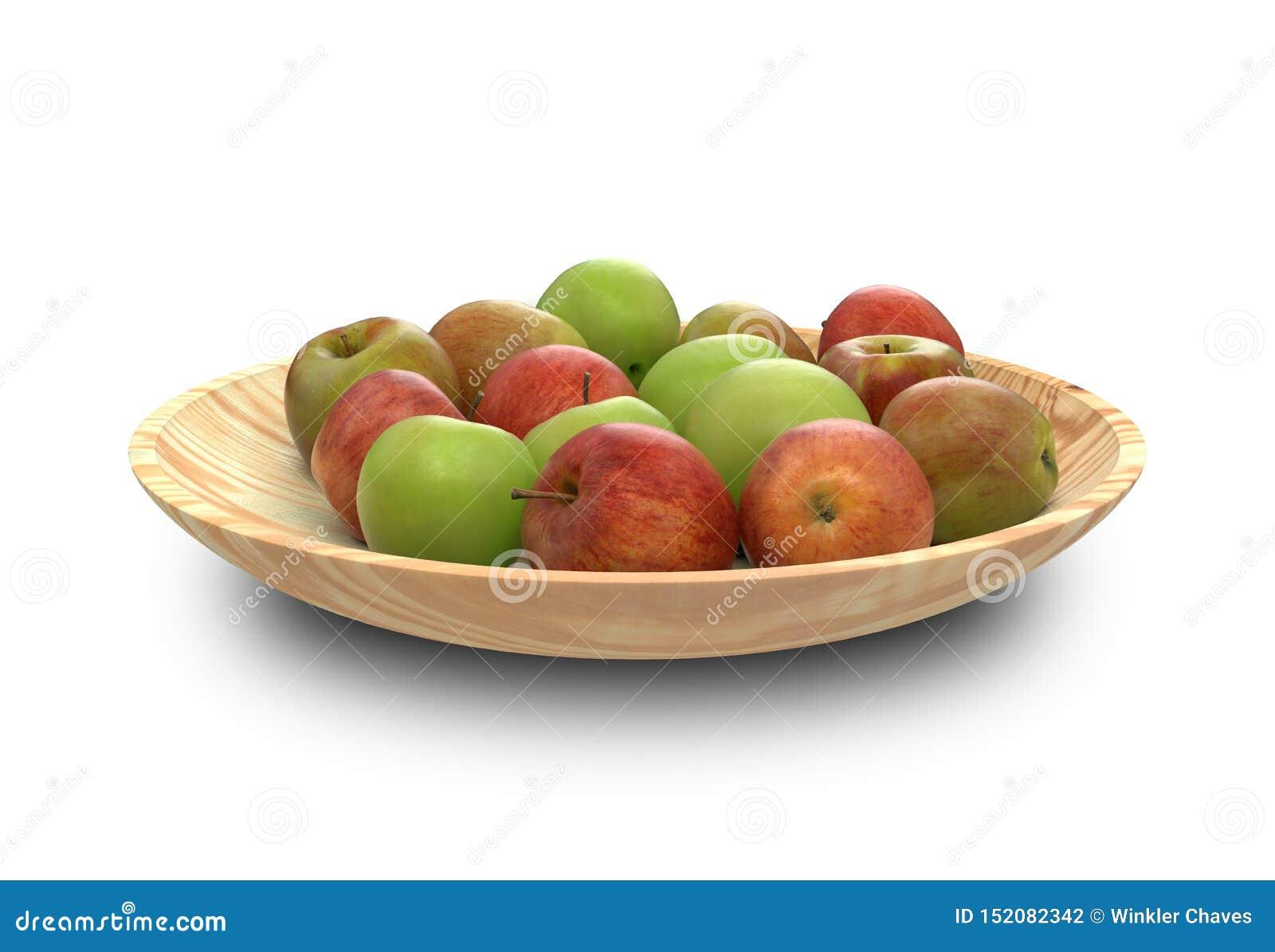 Apple - zieleń i rewolucjonistka, ścinek ścieżka, maçã manzana