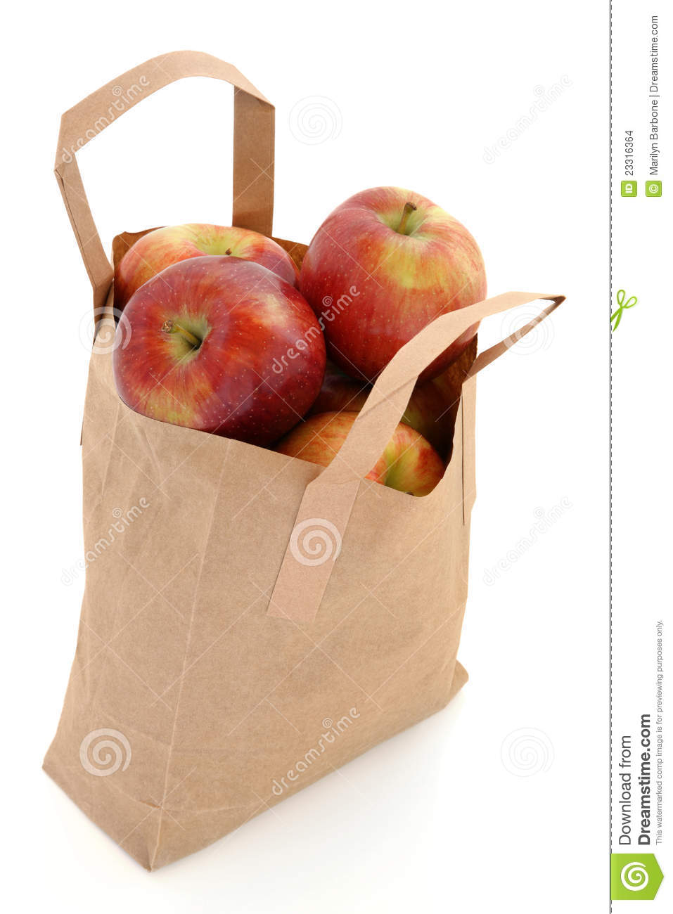 apples in a bag stock photo image of diet  fresh  health grocery shopping clipart images free woman grocery shopping clipart