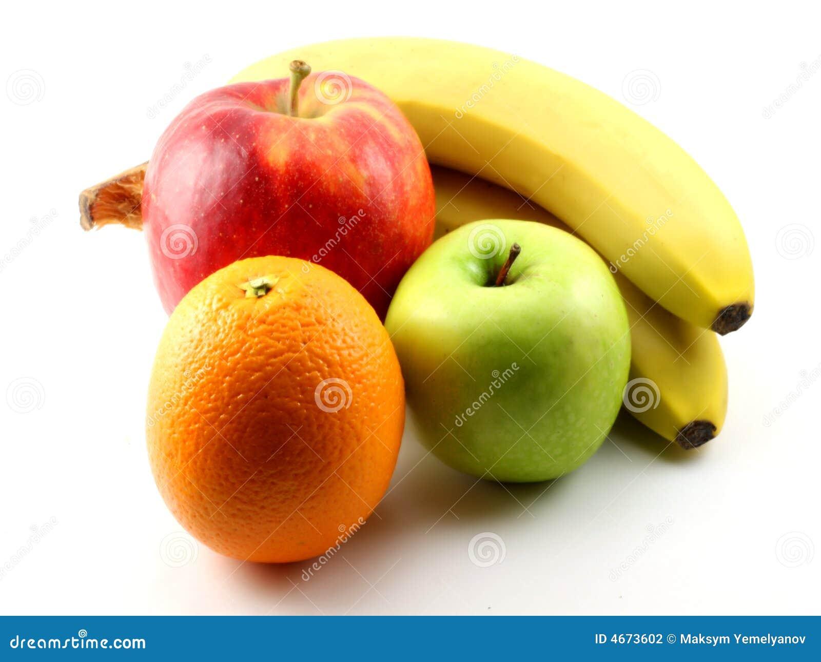 Apples Bananas And Orange Stock Photography Image 4673602
