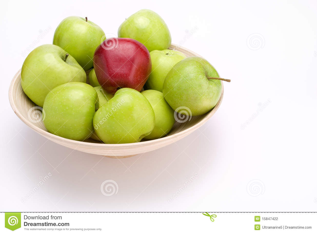 Apples in bowl stock photo. Image of several, bowl ...