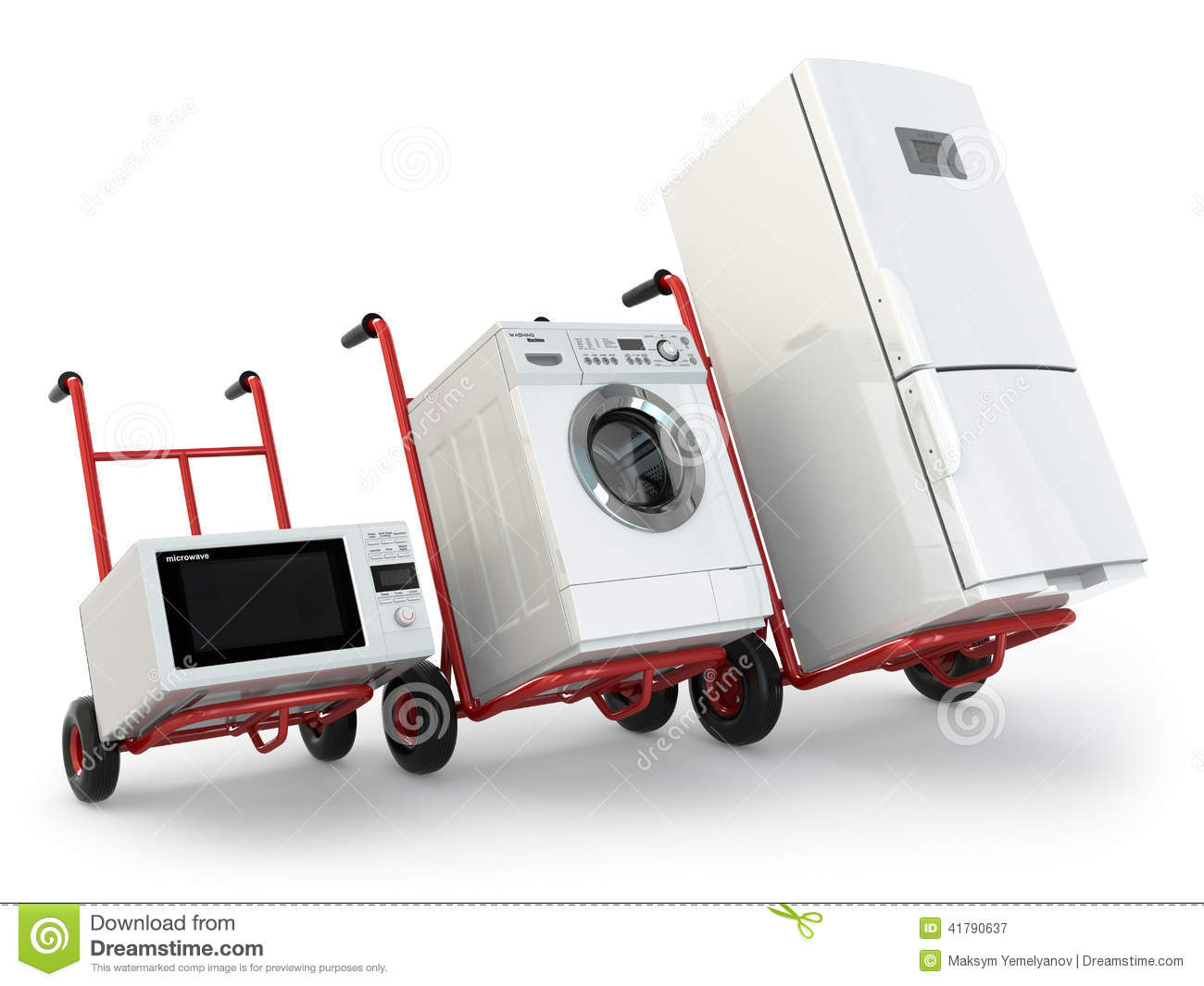 Appliance Delivery Hand Truck Fridge Washing Machine