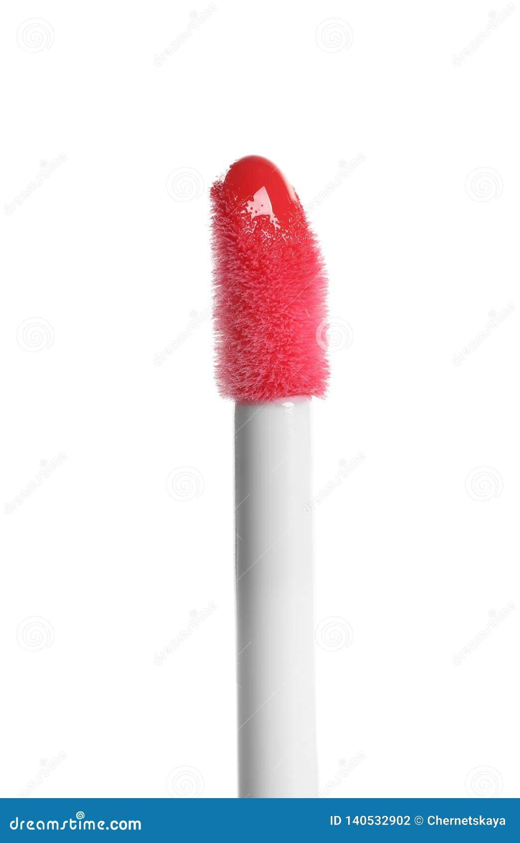 Applicateur avec le rouge à lèvres liquide