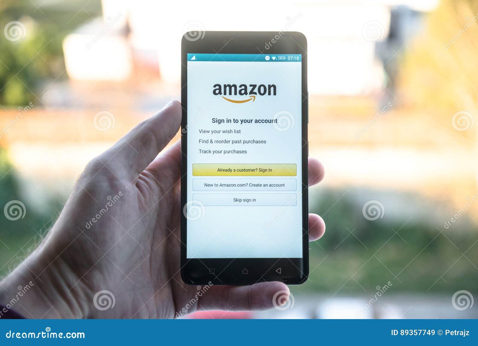 Application d Amazone