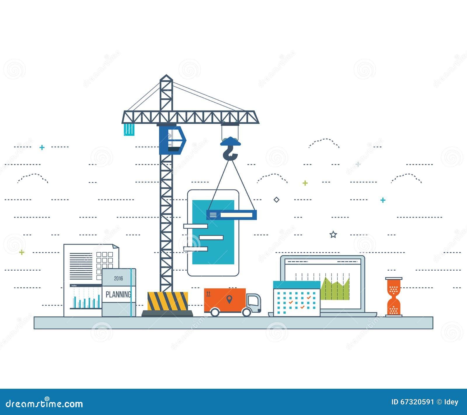 business application launch startup  content development