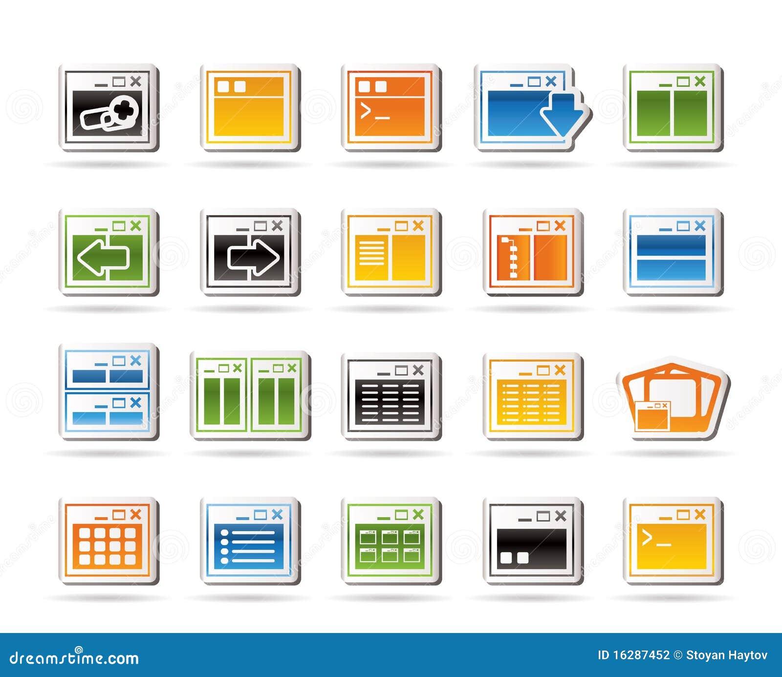 Computer Server Icon Computer Application Icons