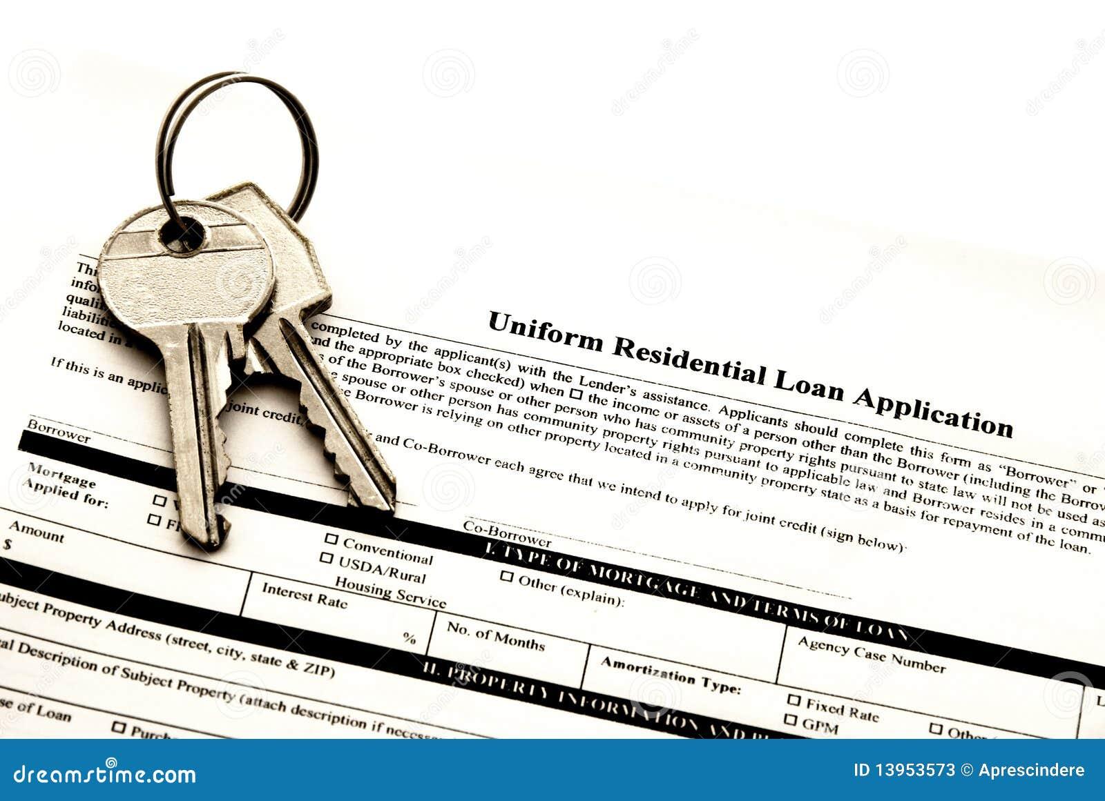 Applicazione di prestiti immobiliari