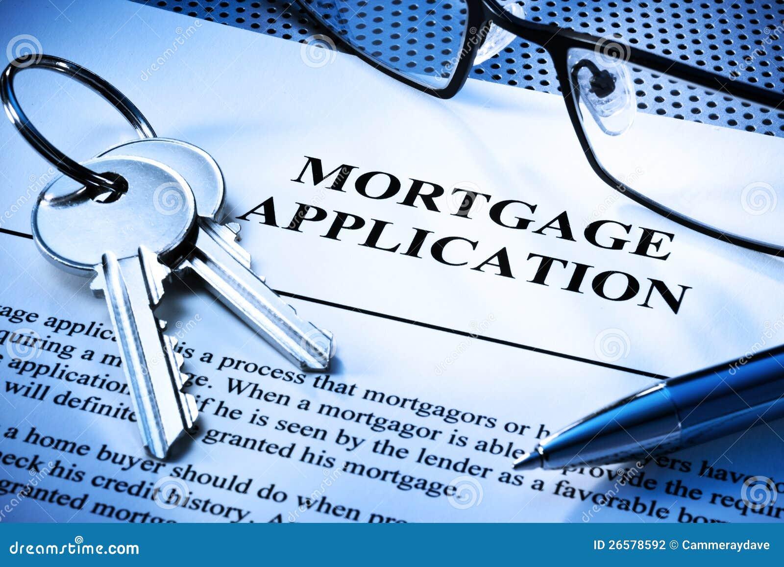 Applicazione di prestiti immobiliari di ipoteca