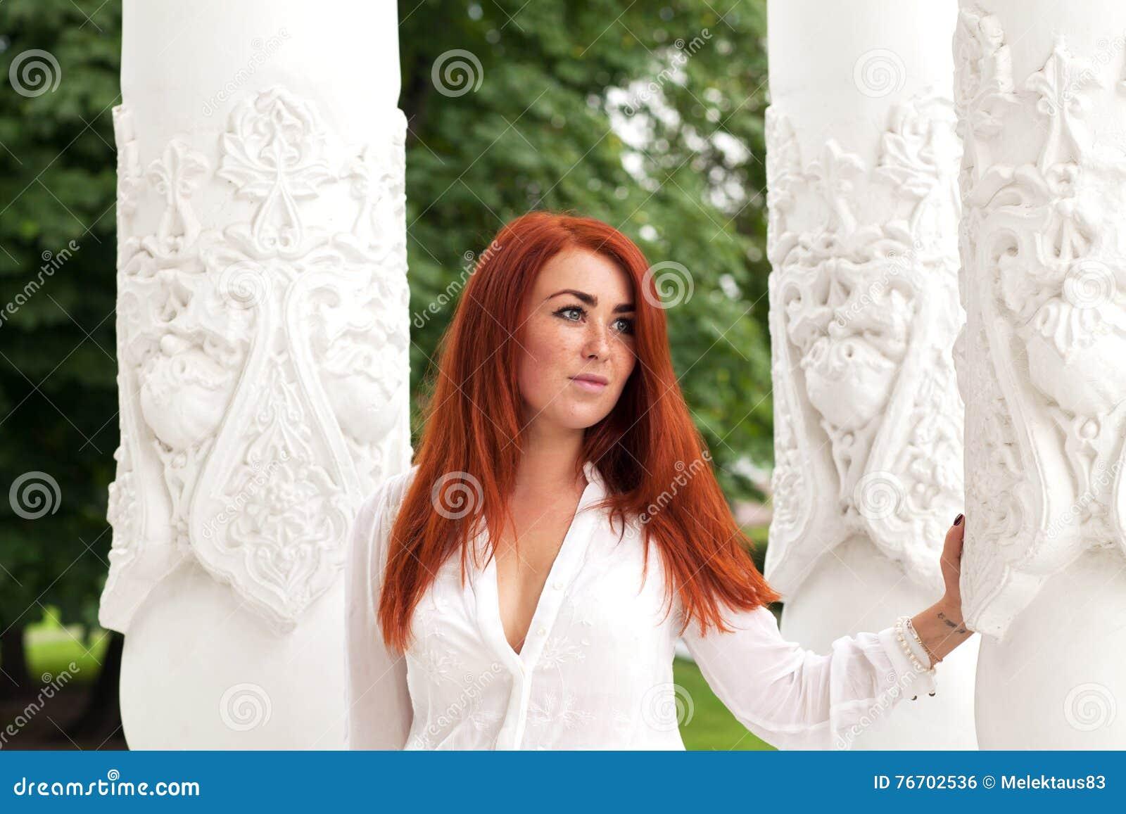 Applicerad effekt filters hårredkvinnan