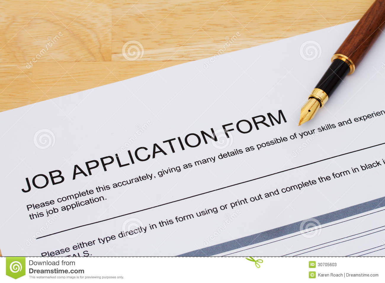 Applying for a job stock image. Image of resume, work - 30705603