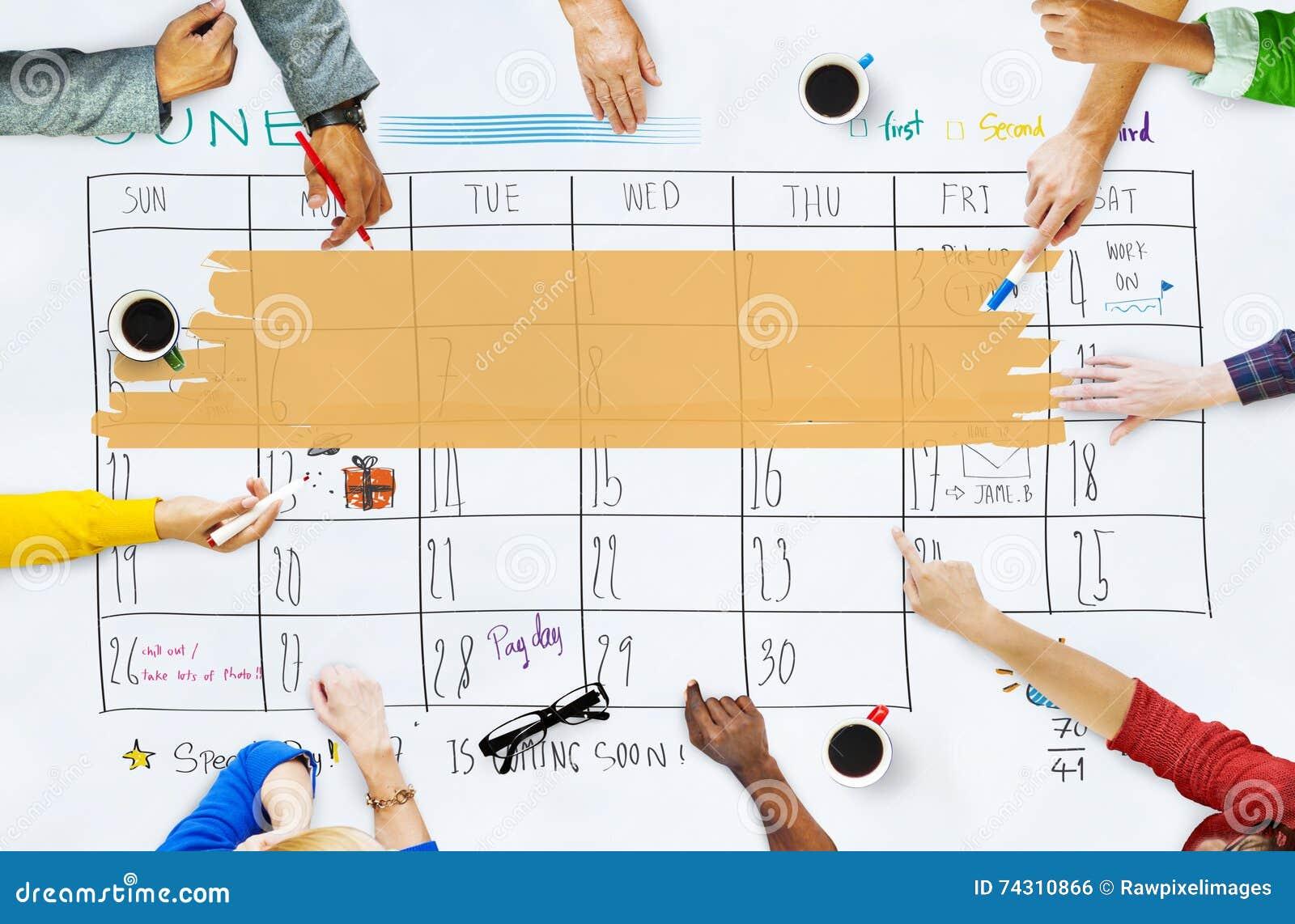Coming Soon Calendario.Appointment Agenda Calendar Meeting Reminder Concept Stock