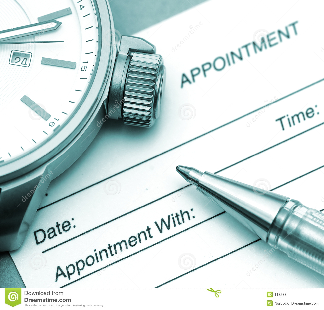 appointment card clipart