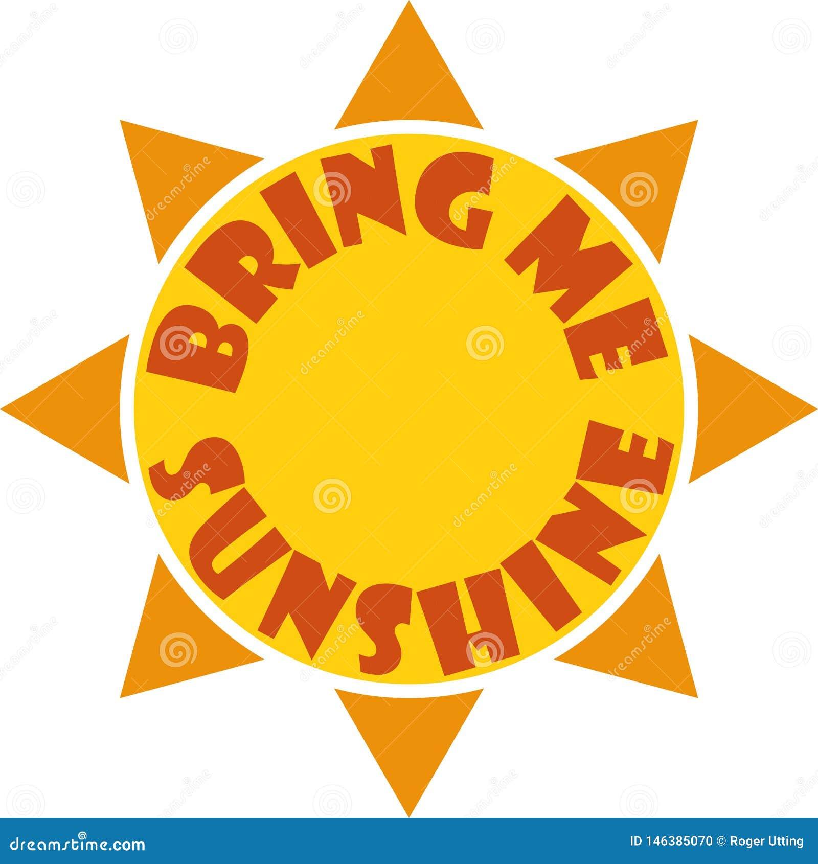 Apportez-moi le soleil