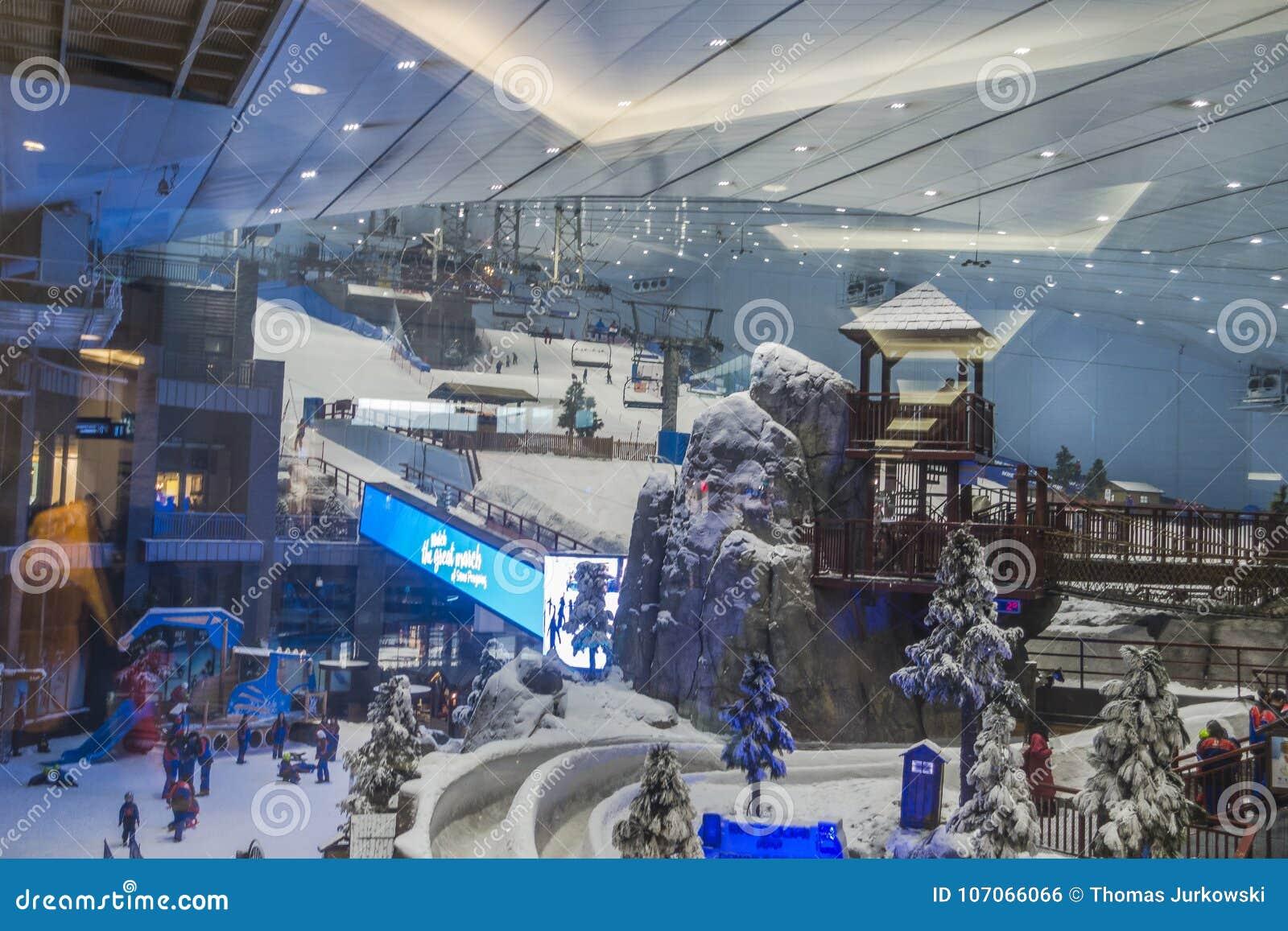 Appréciez la neige dans le désert chez Ski Dubai