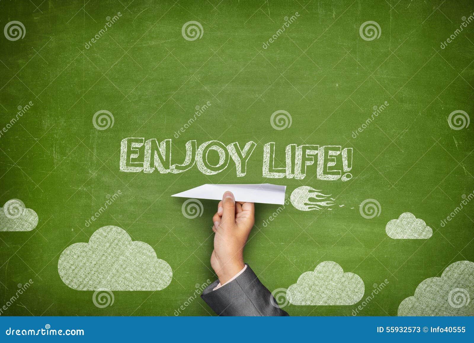 Appréciez le concept de la vie