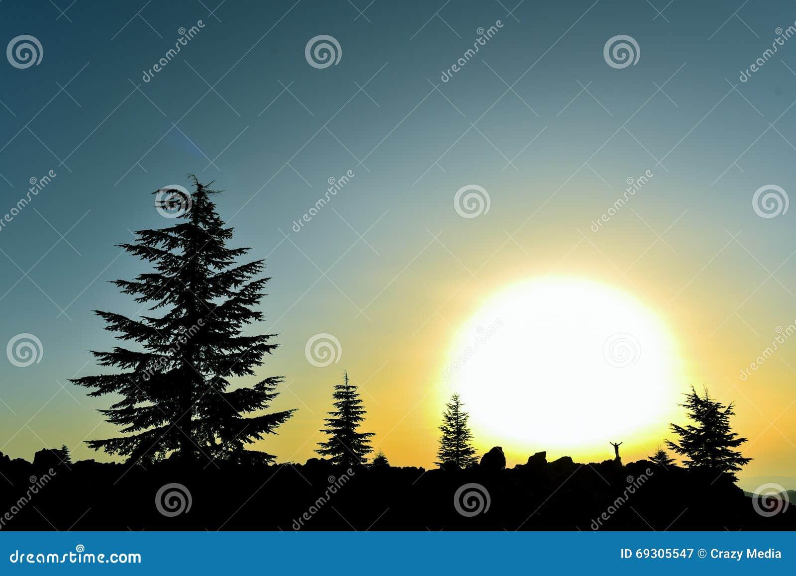 Appréciez un lever de soleil énorme