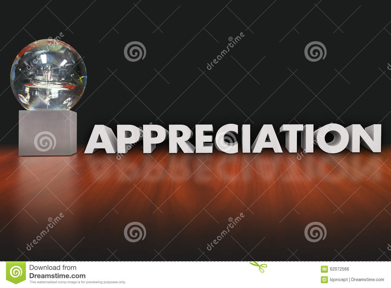 appreciation word award trophy prize employee recognition